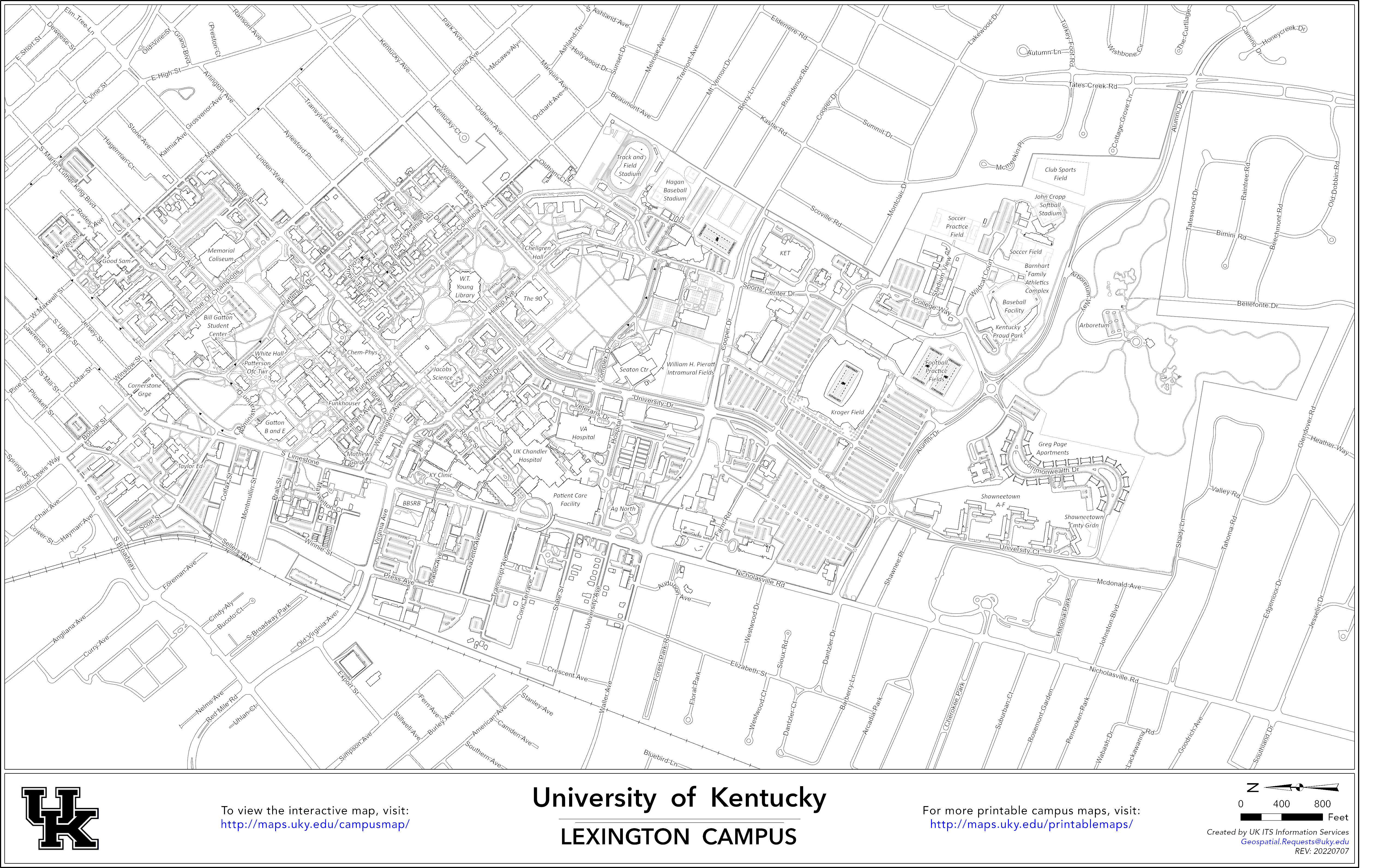 Map Of Uk Campus.Printable Campus Maps