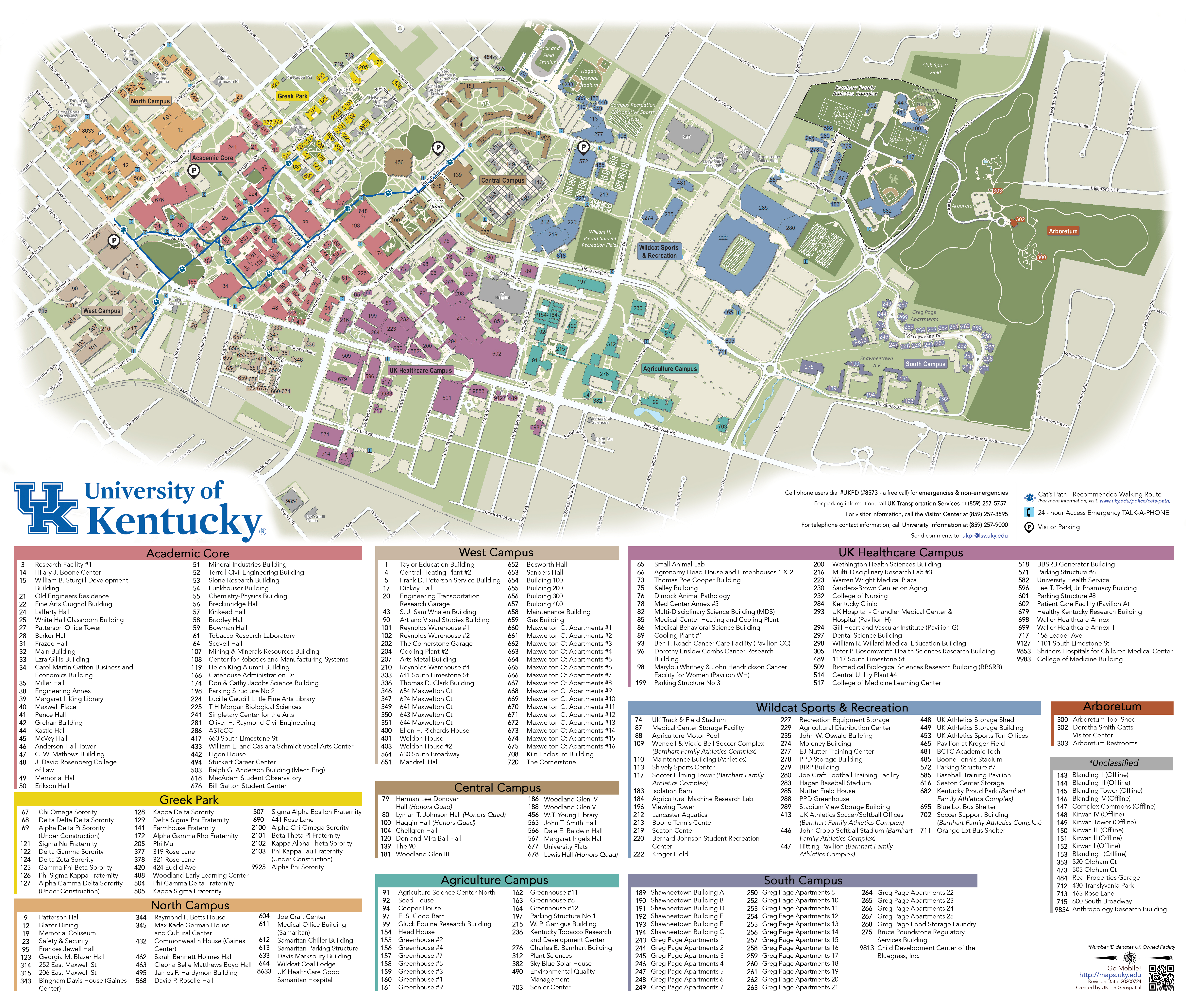 Printable Campus Maps
